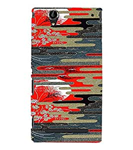 PrintVisa Dusk & Dawn Pattern 3D Hard Polycarbonate Designer Back Case Cover for Sony Xperia T2 Ultra