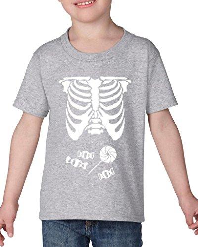[Artix Kids Hallowen Costume Skeleton with Candies Halloween Fashion Children Gifts Toddler Kids T-Shirt Tee Clothing 5T Sport] (Hallowen Contact Lenses)