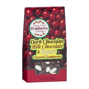 Cod Cranberry Candy Milk Chocolate, Dark Chocolate and Yogurt Covered ...