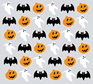 Halloween Cake Decorations Uk : 36xHALLOWEEN MIX EDIBLE RICE / WAFER PAPER CUP CAKE ...