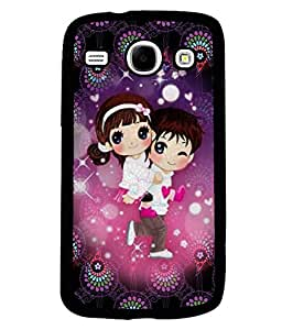 Fuson 2D Printed Love Designer back case cover for SAMSUNG GALAXY CORE I8262 / I8260 - D4336