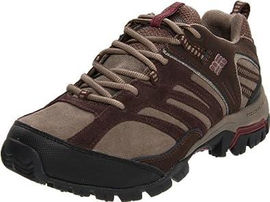 (快抢)哥伦比亚 Columbia Women's Shasta Ridge Lea 真皮Omni-Tech户外鞋 $53.20