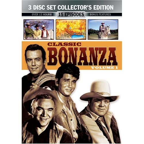 Classic Bonanza Vol. 1 3 Disc Collector s Edition movie