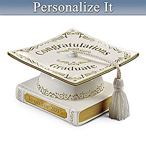 Personalized Graduation Music Box: Congratulations Graduate