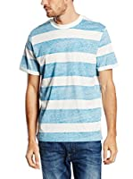 JACK & JONES Camiseta Manga Corta (Azul)