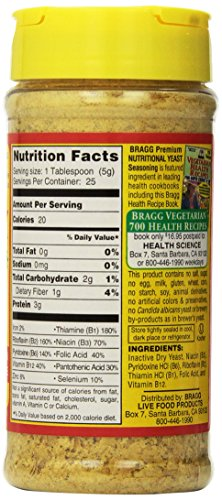 Nutritional yeast ingredients