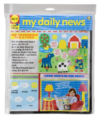 ALEX Toys Little Hands My Daily News - 1