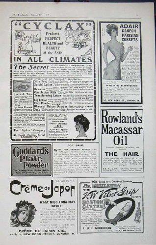 Giarrettiera 1907 dell'Olio per Capelli di Goddards dei Corsetti di Cyclax Adair