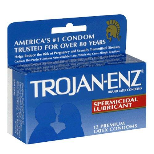 nonoxynol-9 trojan condoms