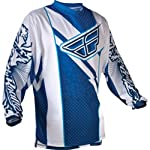 Fly Racing F-16 Youth Boys MX/Off-Road/Dirt Bike Motorcycle Jersey - Blue/White / Large