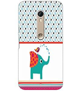 PrintDhaba Funny image D-5963 Back Case Cover for MOTOROLA MOTO X PURE EDITION (Multi-Coloured)