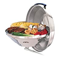 Magma Marine Kettle Charcoal Grill w/ Hinged Lid, Party Size by Magma Products, Inc.