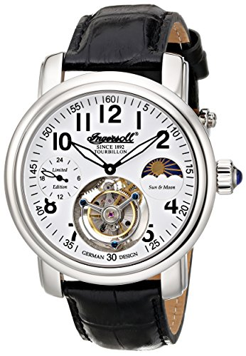 Ingersoll-Mens-IN5306WH-Lahota-Tourbillon-Analog-Display-Mechanical-Hand-Wind-Black-Watch