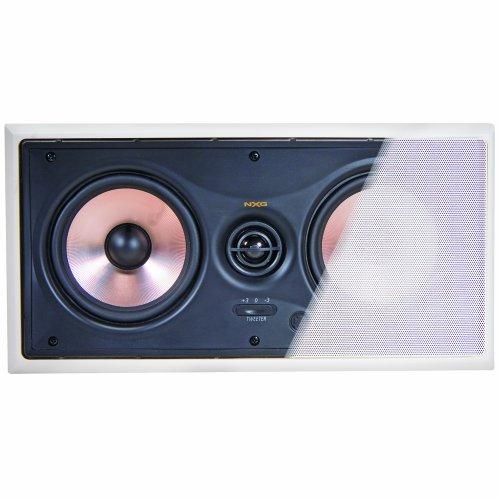 """Nxg Technology Nx-W5.2-Lcr-P Pro Dual 5.25"""" 120-Watt Center Channel In-Wall 2"""