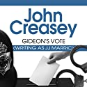 Gideon's Vote Audiobook by John Creasey Narrated by Hugh Kemode