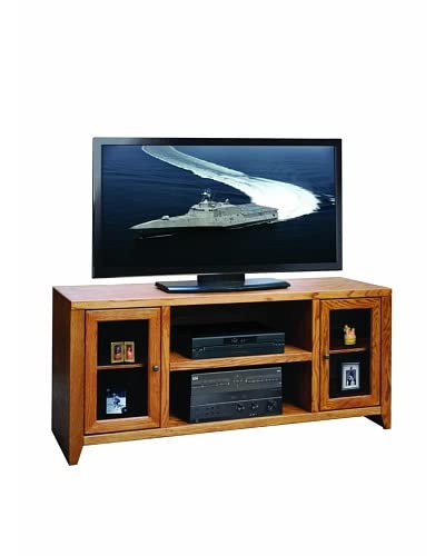 Legends Furniture City Loft 60″ TV Console, Golden Oak