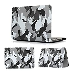 TARKAN Royal Snap-On 360 degree Hard Protective Flexible Shell Case Cover with Scratch Resistant Frost Texture For Macbook Pro 13.3
