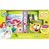 Leap Frog Tag Reading System Bundle: 2 Storybooks And Exclusive Little Mermaid Tag Reader Graphics
