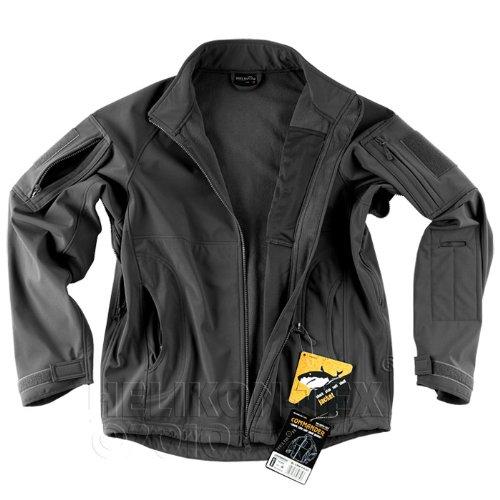 Helikon Commander Windproof Soft Shell Mens Jacket Black