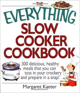 Cookbook slow cooker pdf
