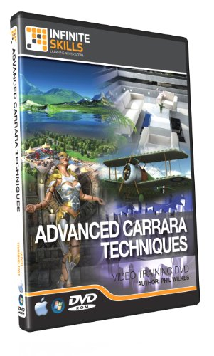 Advanced Carrara Modeling Techniques Training DVD