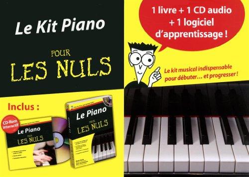 Kit Piano pour les nuls (11 Cédérom + 1 CD audio)