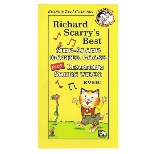 Richard Scarry's Sing-Along Mother Goose PLUS Learning
