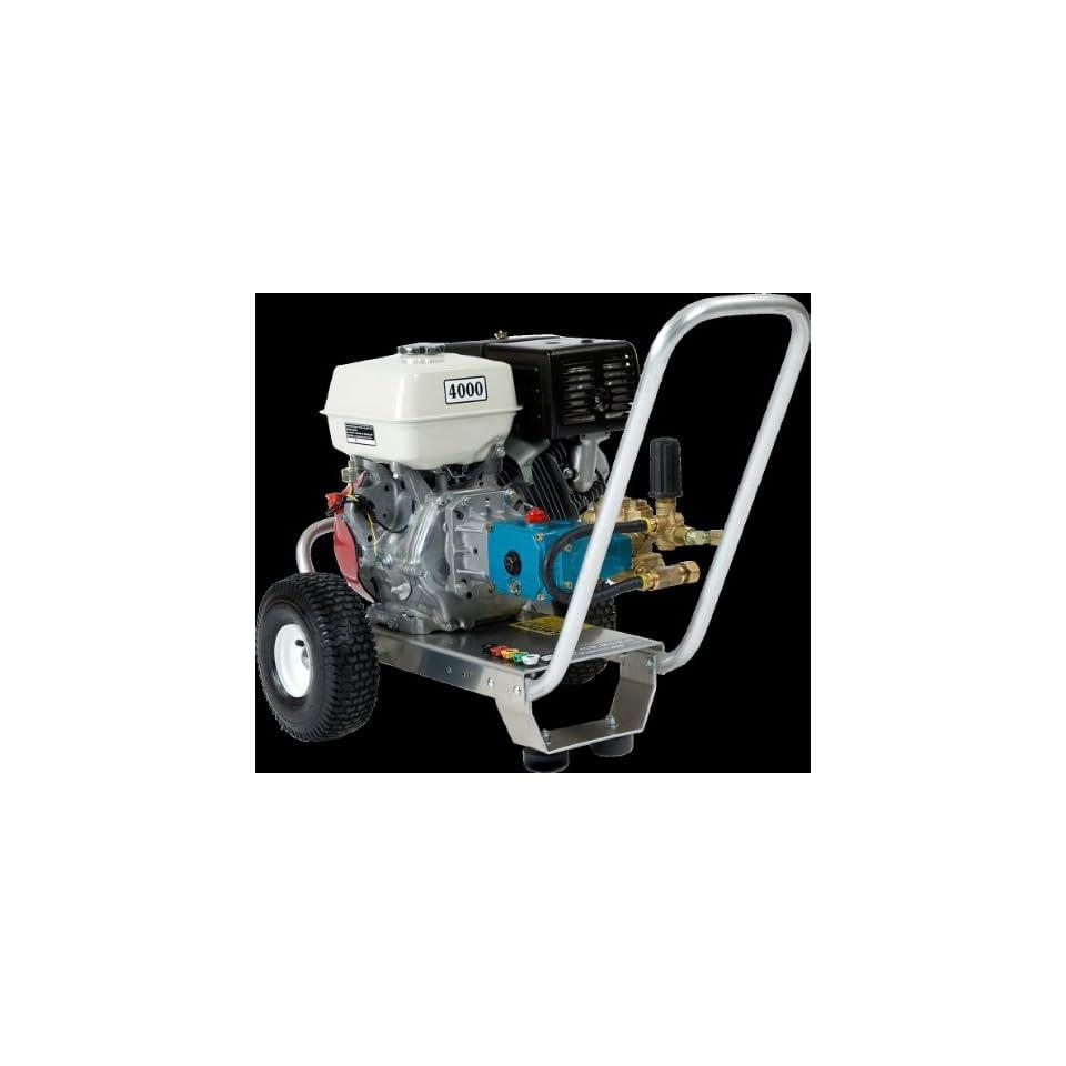 4000 Psi Pressure Washer 13hp, Honda Gx Engine, Cat Pump on