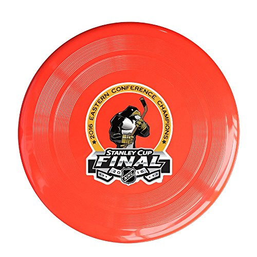Plastic Champions Pittsburgh Hockey 2016 Sport Dogs Flying Discs Red