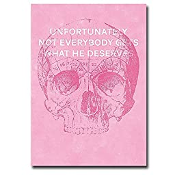 Unfortunately Not Everyone Gets What He Deserves by Hannes Beer Premium Gallery-Wrapped Canvas Giclee Art (Ready-to-Hang)