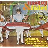 """Lustig und fidel - Fr�hliche Blasmusik aus Oberbayern & Oberkrain [Vinyl-LP] Falcon L-ST 7055von """"K�nstler: Seppl Lechl..."""""""