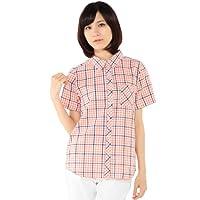 (エコマルシェ)ecomarche 先染めチェック半袖シャツ