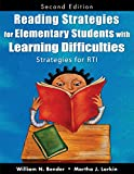 img - for Reading Strategies for Elementary Students With Learning Difficulties: Strategies for RTI book / textbook / text book
