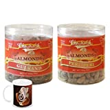 Chocholik - Almonds Gulkand & Peri Peri 2 Combo Pack With Diwali Special Coffee Mug - Gifts For Diwali