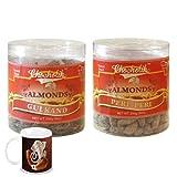 Chocholik - Almonds Gulkand & Peri Peri 2 Combo Pack With Diwali Special Coffee Mug - Gifts For Diwali