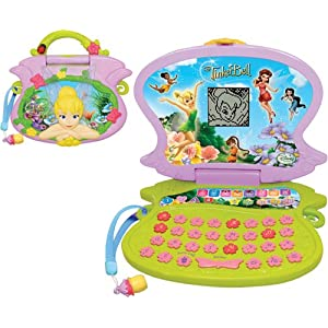 tinkerbell toys , junior laptop
