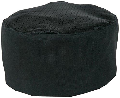 Mercer Culinary M60070BK Millennia Bakers Skull Cap, Black (Happy Chef Cap compare prices)