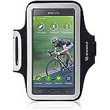 Shocksock Slim Fit Neopren Sport Armband Armtasche für Samsung Galaxy Note 4 Hülle Schwarz