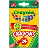 Crayola Crayons 24 Ct (Pack of 12)