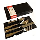 Alessi 4 Piece Table Cutlery Set Nuovo Milano Design Ettore Sottsass