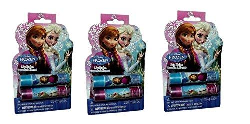 Disney Frozen Lip Tube 3 Set ( 2p 1set) - 1