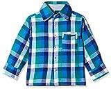 Nauti Nati Boy's Shirt (NAW14-476_Green and blue_8y)