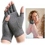 Imak Arthritis Mild Compression Gloves With Open Fingertips