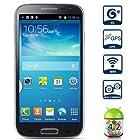 5 S4 Smart Cell Phone 3/Three SIM Standby Dual Core 9500 Android 4.2 3G WCDMA WIFI GPS (2 X SIM Card Slot and 1 X Micro SIM Card Slot) Blue