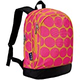 Wildkin Big Dots Hot Pink Sidekick Backpack