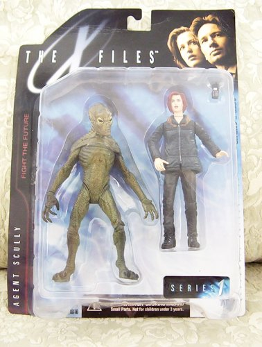 Picture of McFarlane 1998 The X-Files Action Figure Series 1 - Agent Scully with Alien (B001FDQTM4) (McFarlane Action Figures)