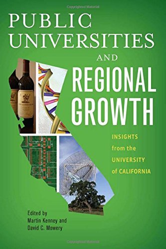 Public Universities And Regional Growth: Insights From The University Of California (Innovation And Technology In The World E)