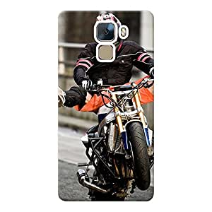 Mobile Back Cover For Huawei Honor 7 (Printed Designer Case)