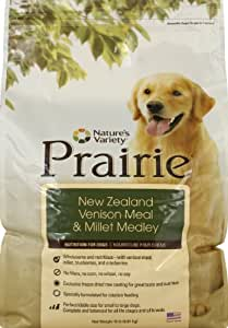 Prairie New Zealand Venison Meal & Millet Medley Dry Dog