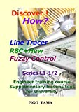 LineTracer+R8C+HEW+Fuzzy: Teaching aid text for university (Discover! How? Book 1) (English Edition)